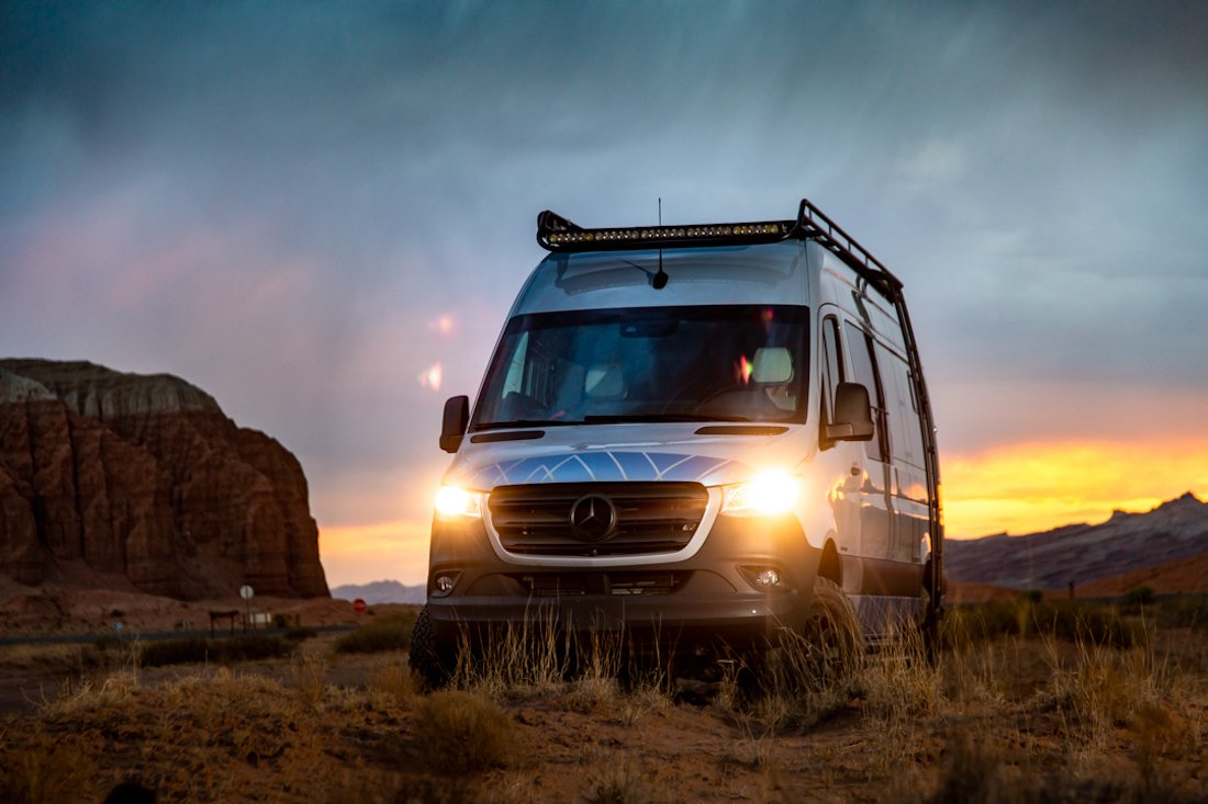 DREAM WEAVER CAMPER IS THE PERFECT OVERLANDER
